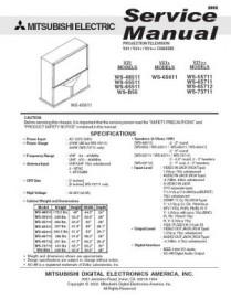 WS-65511 Service Manual