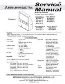 WS-55513 Service Manual