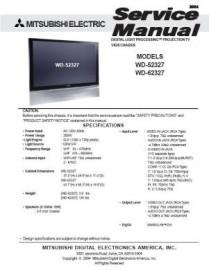 WD-52327 Service Manual