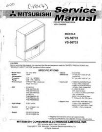 VS-50703 Service Manual