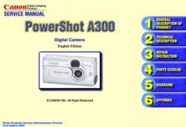 Powershot A300 Service Manual