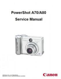 PowerShot A80 Service Manual
