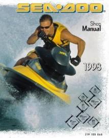 1998 SeaDoo GTS Service Manual