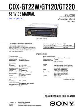 cdx gt120 service manual complete service manuals rh completeservicemanuals com